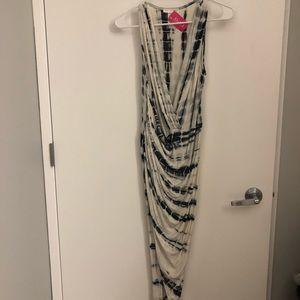 🆕 a'gaci Tie Dye Wrap Dress